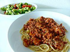 Spaghetti zonder pakjes