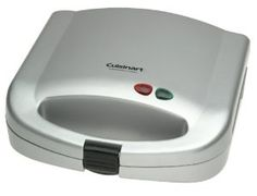 Cuisinart Dual-Sandwich Nonstick Electric Grill by Cuisinart Kitchen Aid Appliances, Specialty Appliances, Small Appliances, Kitchen Grill, Kitchen Knives, Cheese Maker, Panini Press, Make French Toast, Panini Sandwiches