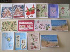 Paper napkin cards.