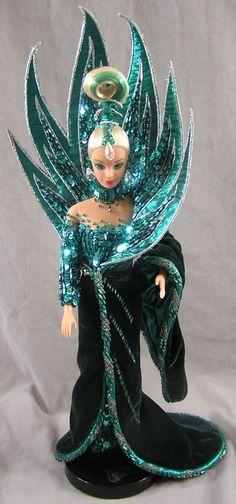 Image Detail for - Mattel Bob Mackie Neptune Fantasy Barbie Doll 02428 '92 | eBay