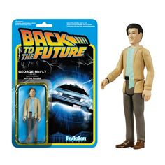 Super7 and Funko present the ReAction Figures George McFy from the classic film Back to the Future, an authentically detailed toy in the style of the golden age of action figures! Each 3 3/4 poseable
