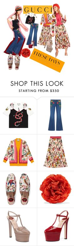 """Presenting the Gucci Garden Exclusive Collection: Contest Entry"" by beautybqueen ❤ liked on Polyvore featuring Gucci and gucci"