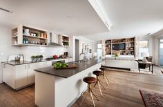 Open Floor Plans: A Trend for Modern Living - http://freshome.com/open-floor-plans/