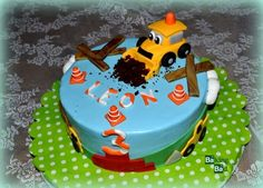 Die 43 Besten Bilder Von Bagger Torte Birthday Cakes Birthday