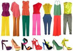 Risultati immagini per accostamento colori vestiti