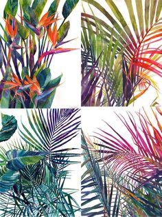 Colorful Watercolor Paintings by Maja Wronska – Fubiz Media