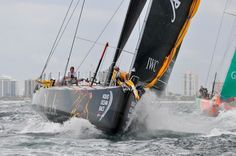 Volvo Ocean Race  Puma team just pulled off a Victory