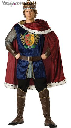 b874a9cce3971 Deluxe Noble King Costume-  153.95  Yandy  Halloween  TimePeriodCostumes