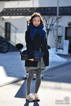 #StreetStyle Tokyo Faces