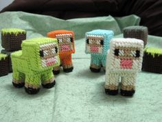 Minecraft Baby Sheep by SweetRiffs on Etsy, $10.00