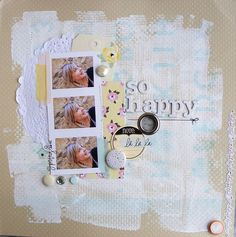 scrapbook page by Elisa P.