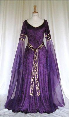 # Purple winter gown worn by Belle in chapter 5?