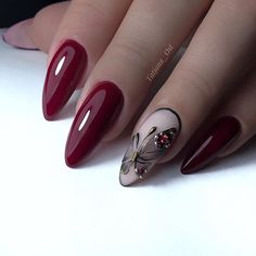 Red Aesthetic, How To Do Nails, Girly Things, Photo Wall, Make Up, Nail Art, Beauty, Manicures, Alice