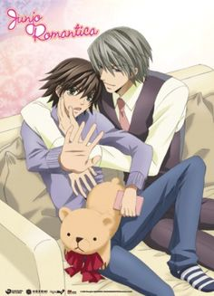 Junjo Romantica Wall Scroll (31 x 43 in): Misaki & Usagi