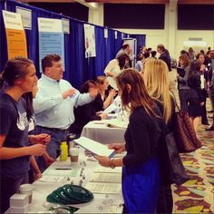 The #MontereyInstitute Career Fair 2014 is happening now! Exciting to see so many new connections and opportunities for our students. #careers #bethesolution