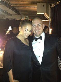 Pit Bull & Jennifer Lopez. Grammy's 2013