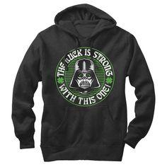 Star Wars Men's - Luck is Strong Lightweight Hoodie