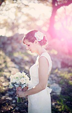 Beautiful bride by Clayton Austin