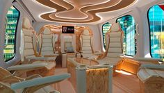 The Bell 525 Relentless Helicopter Cabin Is Worthy of a Bond Villain   Aviation