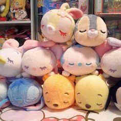 I'm so happy I found these! Cutest little babies!! <3 #disney #plush #bunny…