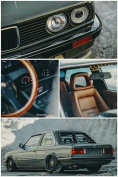 Clean E30 Coupe with Recaro interior
