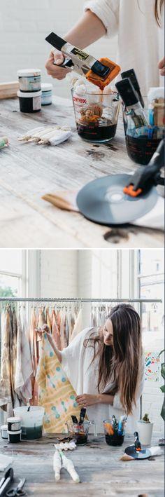 US@UO: Creative Dye Techniques with UO Employee Rachel Van Timmeren - Urban Outfitters - Blog