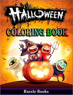 Now on Kindle This ALL NEW Halloween Coloring Book promises many hours of coloring fun. It features fifty pages of unique Halloween images. It is designed for kids from ages 4-10. If you're looking for a fun Halloween craft this is it!