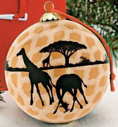 Amazon.com: Giraffe Christmas Ornament: Home & Kitchen