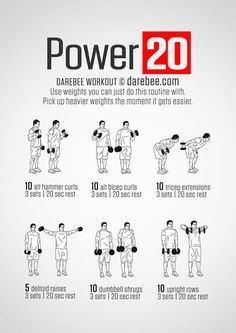 Power +20 Workout