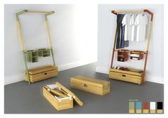 arara-nômade portable wardrobe. all in one