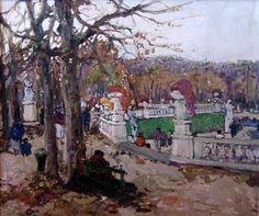 Marko Stupar - Le jardin du Luxembourg