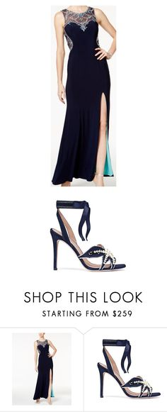 """""""Untitled #1266"""" by laurie-egan on Polyvore featuring Betsy & Adam and Tory Burch"""