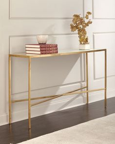 Austin Allen James by John-Richard Lustrous Sky Console Table Metal Furniture, Home Office Furniture, Accent Furniture, Hooker Furniture, Furniture Design, Marble Console Table, Modern Console Tables, Dining Cabinet, French Living Rooms