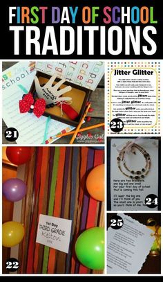 25 Fun First Day of School Traditions | The Dating Divas