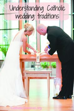 What is the meaning behind Catholic wedding traditions? catholicsentinel.org