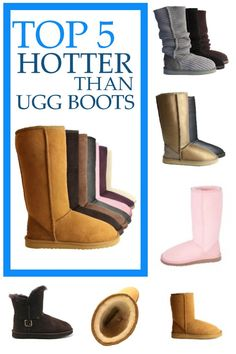 #Ugg Boots - 5 Hotter Alternatives