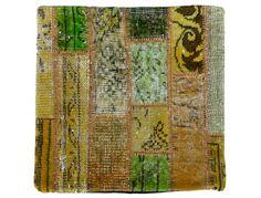 Patchwork pillow by Viteaux Originals