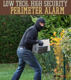 Make a cost-effective DIY perimeter alarm for all survival situations with this tutorial. Survival Life is the best source for survival gear, news, and tips. Survival Life, Camping Survival, Outdoor Survival, Survival Prepping, Survival Gear, Survival Skills, Survival Equipment, Survival Hacks, Doomsday Survival
