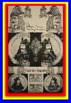 Vlad The Impaler, Dracula, Cool Artwork, Romania, Old Things, Baseball Cards, History, Dragons, Artworks