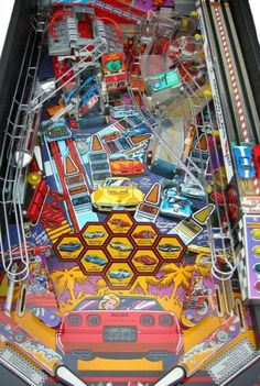 Pinball Machines - Corvette Pinball Machine - The Pinball Company
