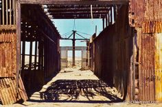 Mining Ghost Town: Humberstone, Chile