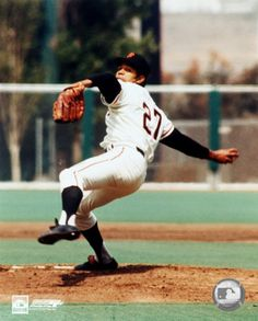 Juan Marichal won more games than any other pitcher in the 1960s, though he was often overshadowed by other pitchers such as Bob Gibson.  Marichal was admitted to the Baseball Hall of Fame in 1983.