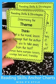 Reading Skills and Strategies Posters Mini Reading, Guided Reading, Teaching Reading, Kindergarten Learning, Reading Books, Learning Activities, Kids Learning, Reading Lessons, Reading Skills