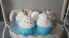 Bella Rosa cupcake bathbombs