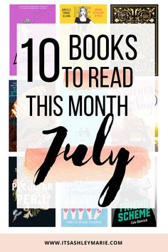 It's a new month which means.... new books are coming out! From thriller to romance, there is a book for everyone to read! Here are 10 books coming out this July! Happy readings!!  #julybooks #bookreleases #julybookreleases #yabooks #youngadultbooks