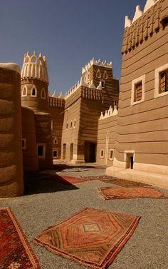 Najran Fortress, Saudi Arabia (by Retlaw Snellac, via Flickr)