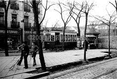 Bulevar de la calle Carranza en 1937