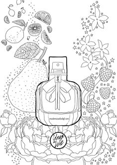 Free Colouring Page paris ysl Coloring Book Art, Coloring Pages To Print, Coloring For Kids, Colouring Pages, Free Coloring, Adult Coloring Pages, Coloring Sheets, Doodle Books, Doodle Art Journals