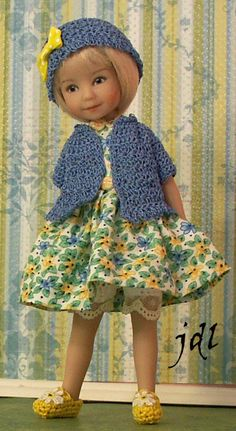 "Outfit for Heartstring 8"" Dianna Effner Doll by JDL Doll Clothes"