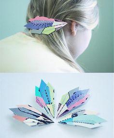 i.v. / DIA hairclip